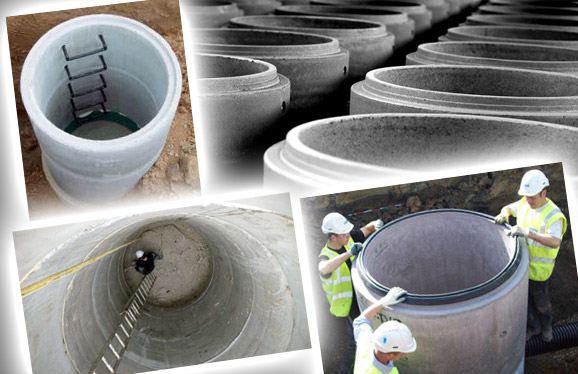 Купить бетонные кольца Киев у «АктиВЕН»