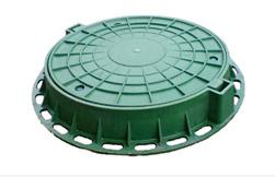 Люк пластмассовый зеленый
